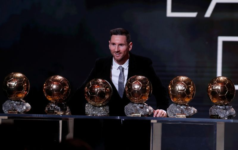 Lionel Messi Wins Ballon D Or For Sixth Time Lionel Messi Messi Ballon D Or