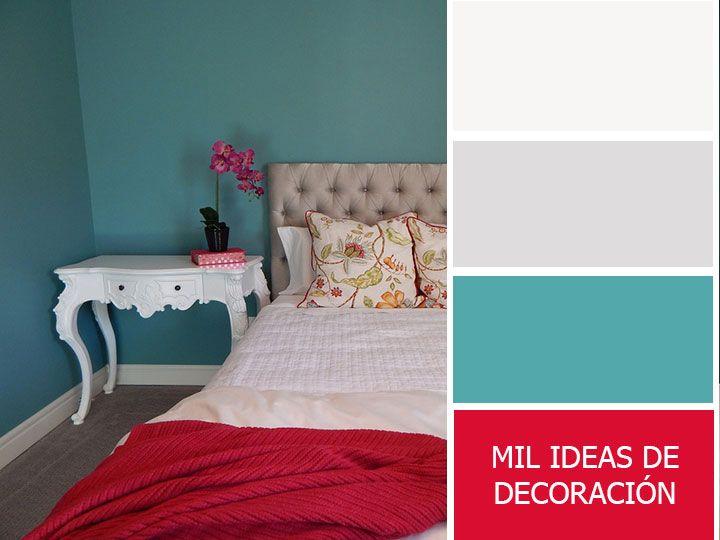 Paleta para combinar colores en el dormitorio Mi casa Pinterest