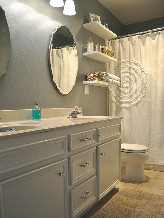 DIY Bathroom Remodeling Tales Wallpaper Art Tile Showers And Art - Ways to save money on bathroom remodel