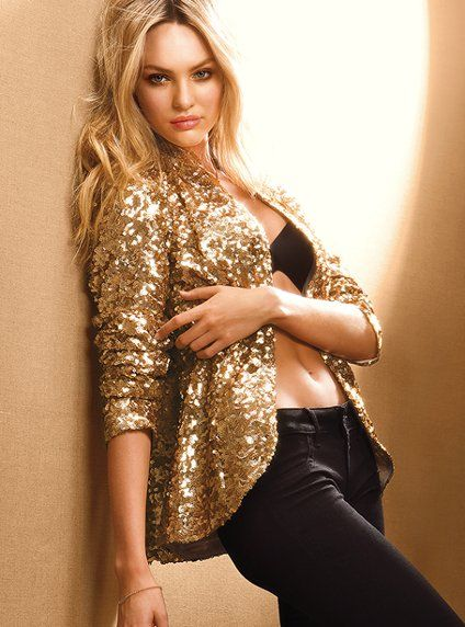 sequined blazer. I used to hate sequins on clothes - they're obviously growing on me.