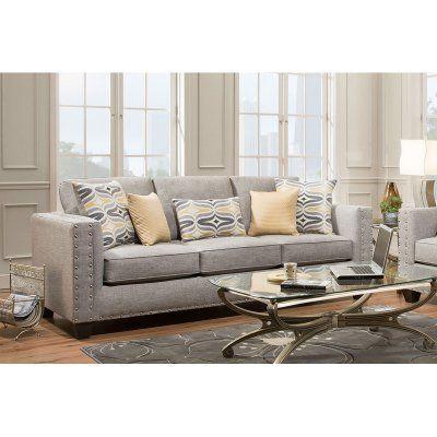Chelsea Home Furniture Oliver Sofa Paradigm Quartz 181703 2210 S Pq Decoration Interieure Decoration Interieur