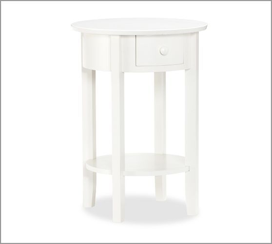 Pottery Barn Julia Bedside Table 20 Diameter 28 High 249 Retail