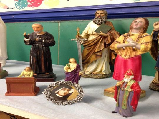 Teacher Barb Gilman describes how her class chooses holy patrons for the new year. 