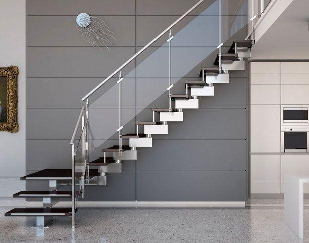 Tekna view escaleras modernas escaleras a medidas - Barandillas para escaleras interiores modernas ...