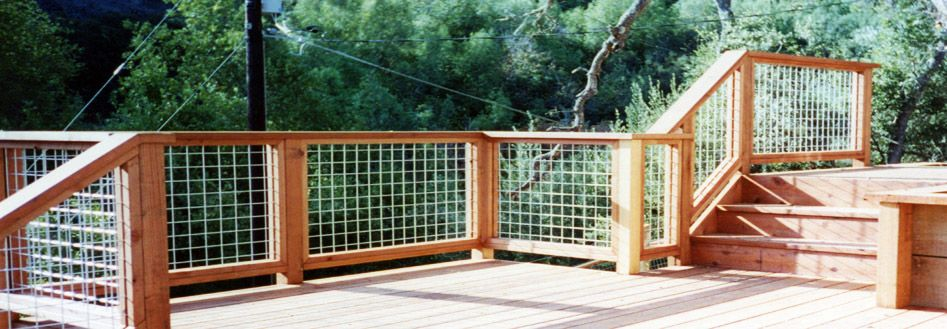 Stock Panels Stock Wire Railing Usually used for stock confinement ...