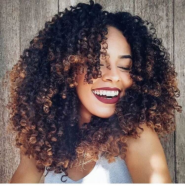 12 Explosive Hair Dye Ideas For Your Next Natural Hair Style The Blessed Queens Natural Hair Styles Curly Hair Styles Curly Hair Styles Naturally