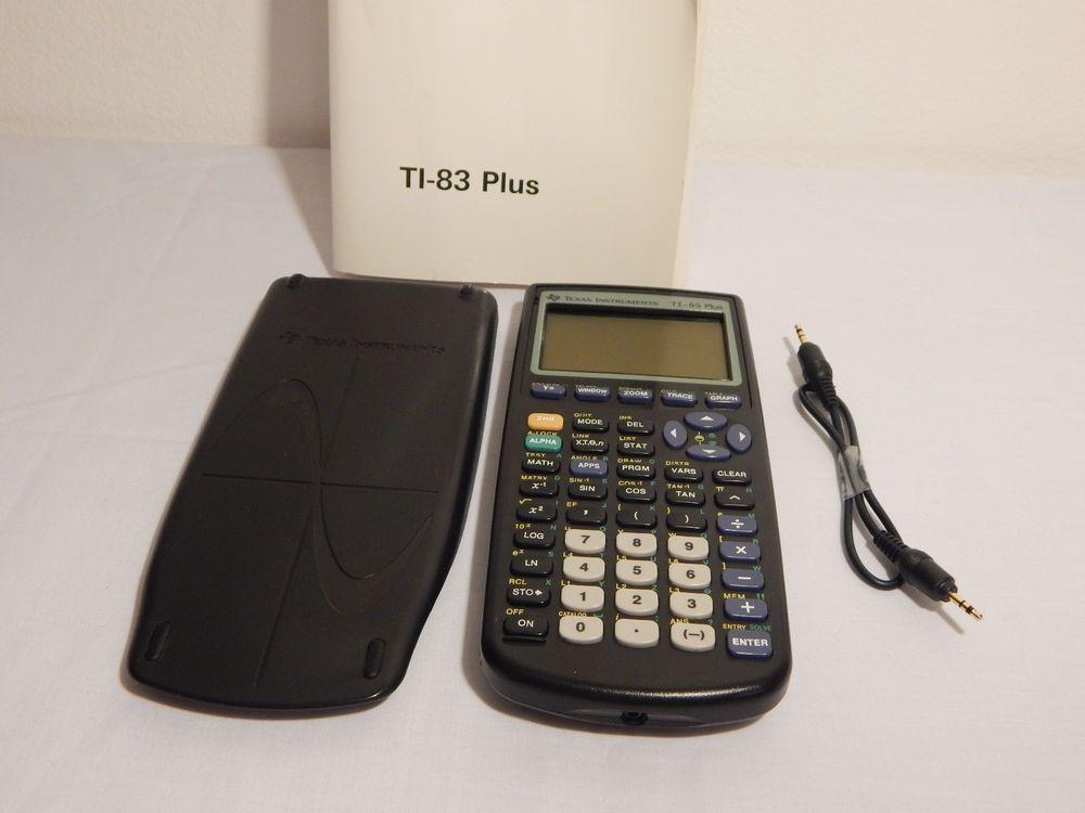 ti 83 user manual