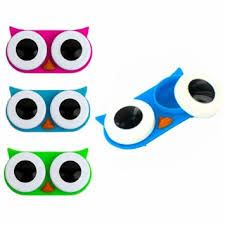 Owl contact lense holder, Kikkerland