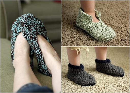 Crochet slipper patterns for beginnersfree crochet slipper crafts crochet slipper pattern for beginners if i ever learn to crochet dt1010fo