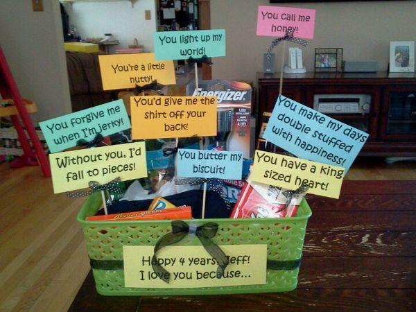 Anniversary Ideas Homemade Anniversary Gifts Boyfriend