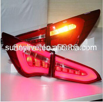 For Hyundai New Santa Fe Ix45 Led Tail Lamp Wh New Hyundai New Santa Fe Car Lights