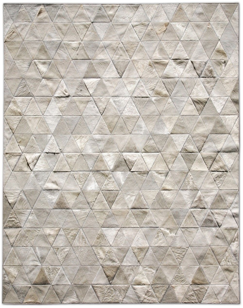 Another Look Of The Cowhide Mosaic Rug I Love Kahn Ivory