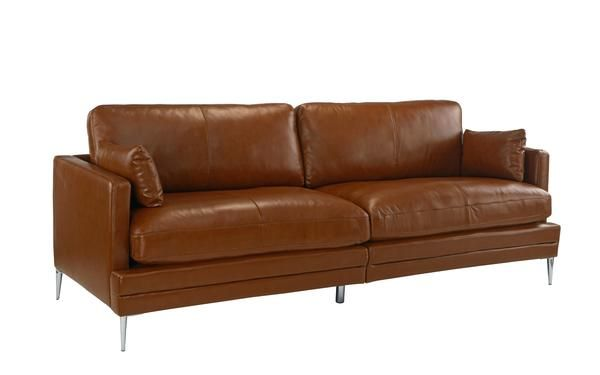 Fine Hadrien Mid Century Modern Leather Match Sofa Rv Sofa Ocoug Best Dining Table And Chair Ideas Images Ocougorg