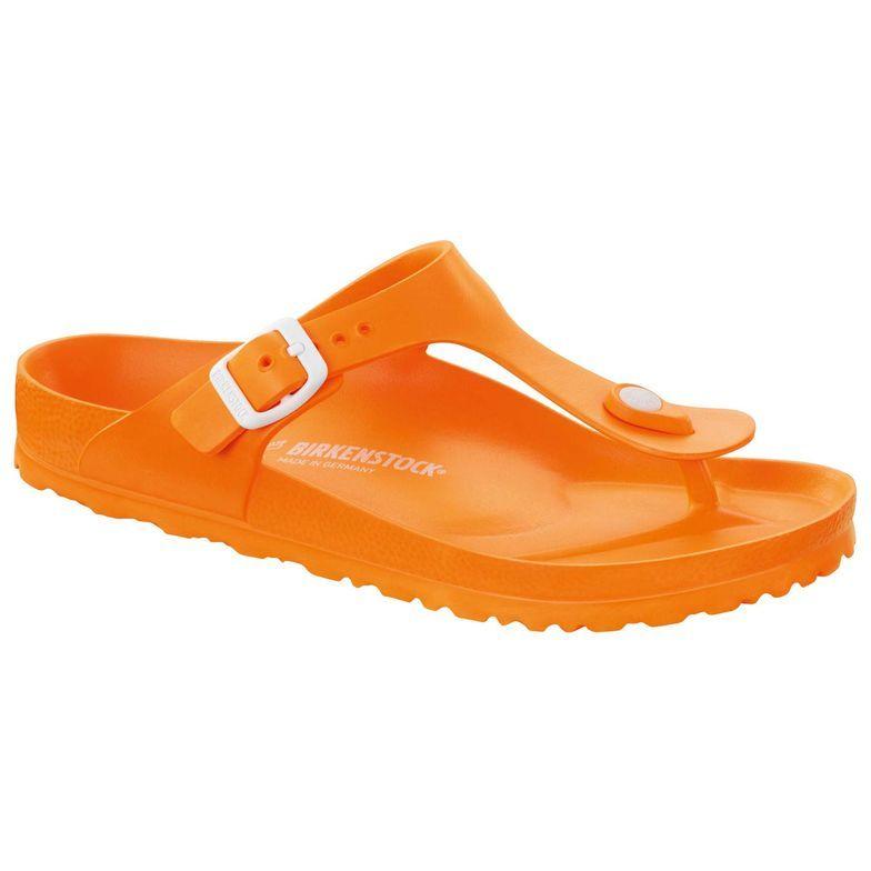 Birkenstock Gizeh Tongs - Jaune Et Orange 1WiTfYuZXs