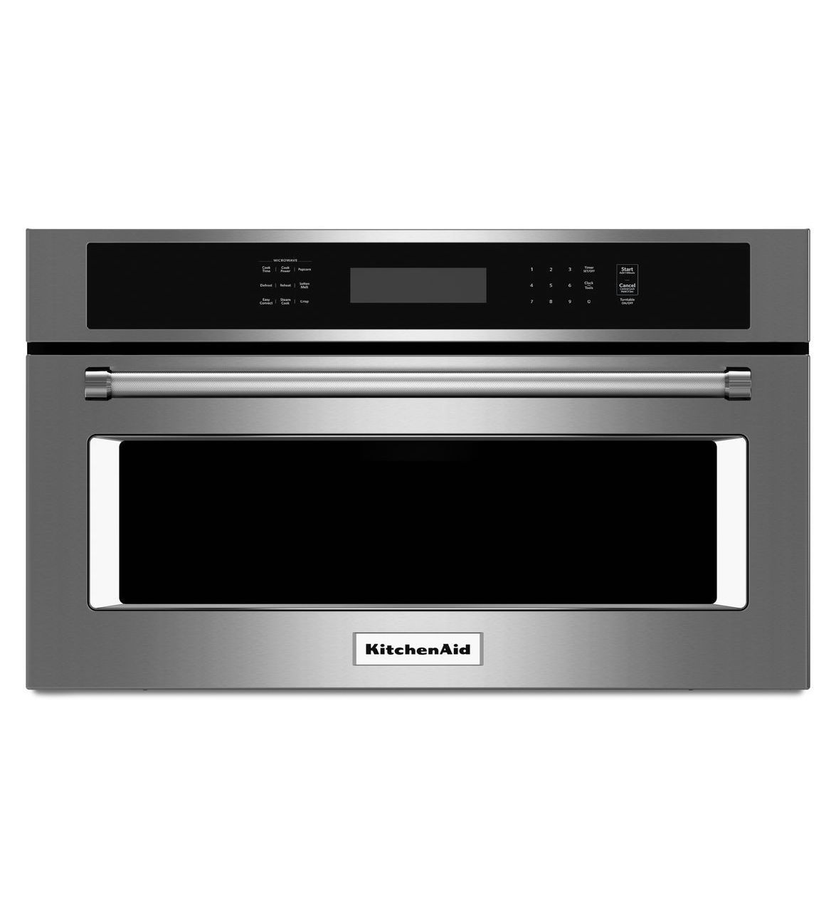 kitchen aid 30 built in microwave oven with convention cooking rh pinterest com