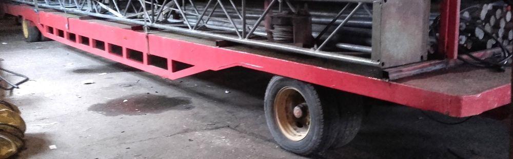 11m Fahrgestell mit Papieren Bauwagen Zirkuswagen