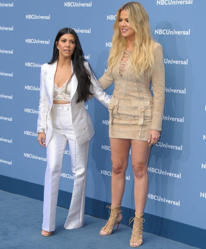 fa2ccdae071 Khloé Kardashian in Christian Louboutin  Amazoulo  Sandals ...
