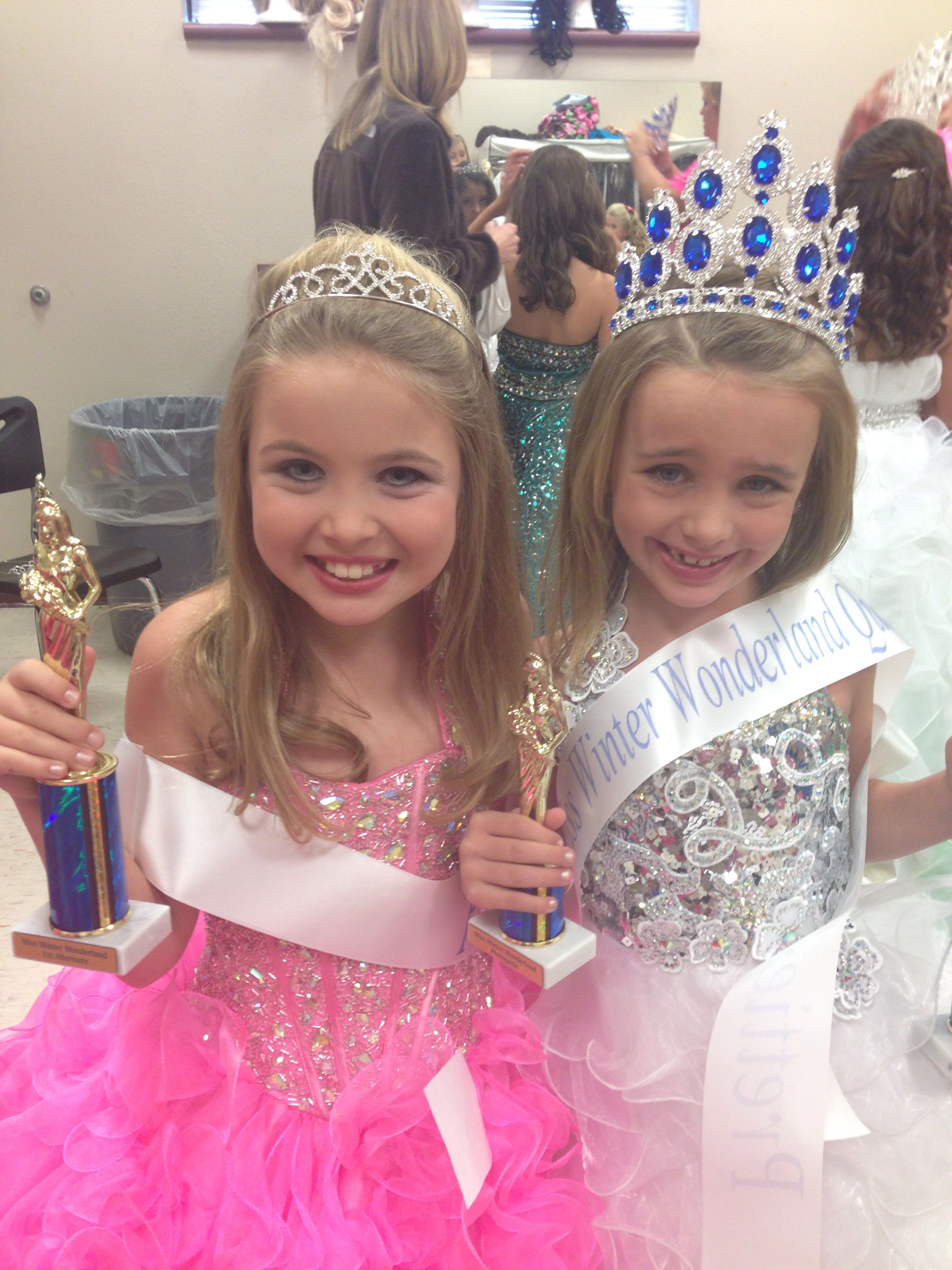pageant makeup/hair for little girls | my makeup/hair