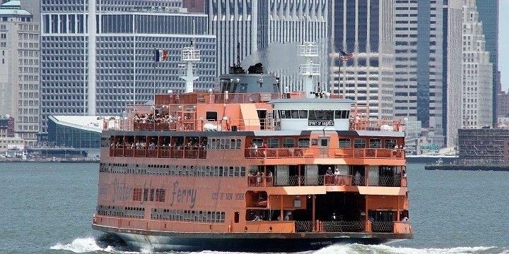 Staten Island Ferry, New York, Mid-Atlantic, USA, North America