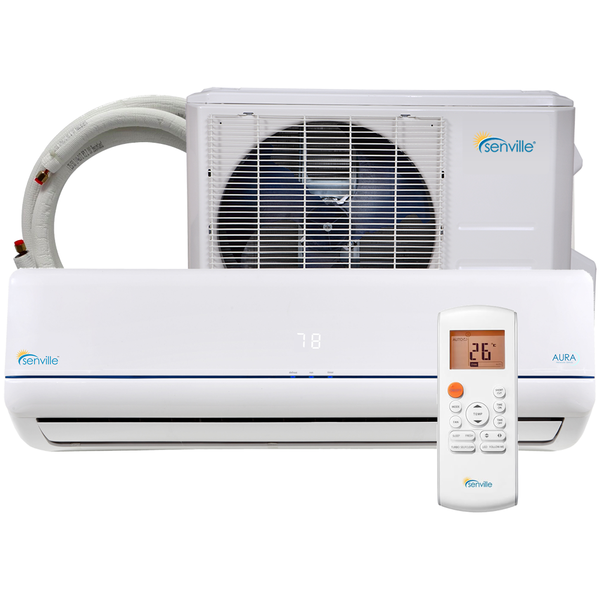 Find a selection of mini split, ductless, split air