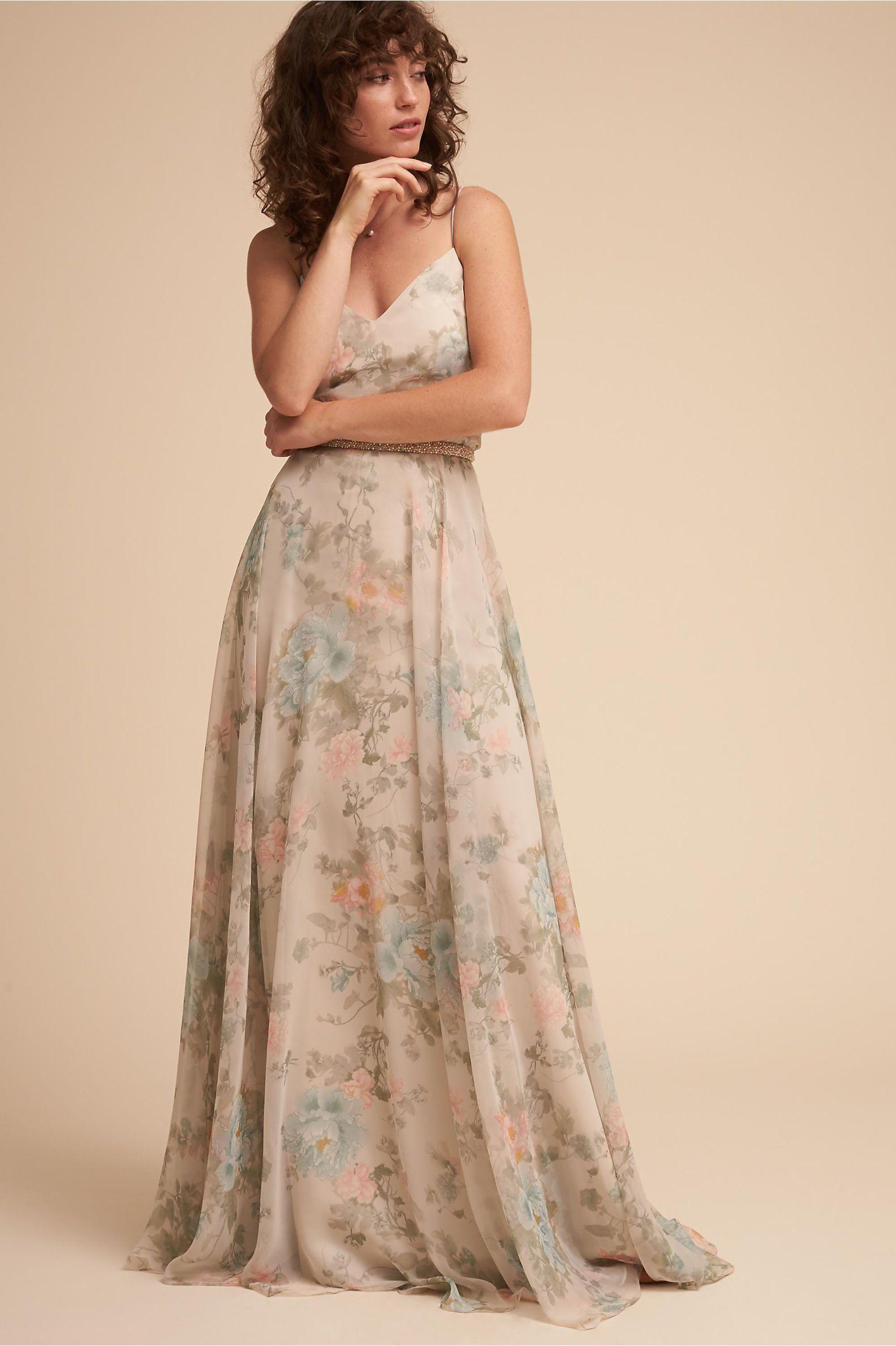 4a4daae51ee BHLDN s Jenny Yoo Inesse Dress in Peony Promenade