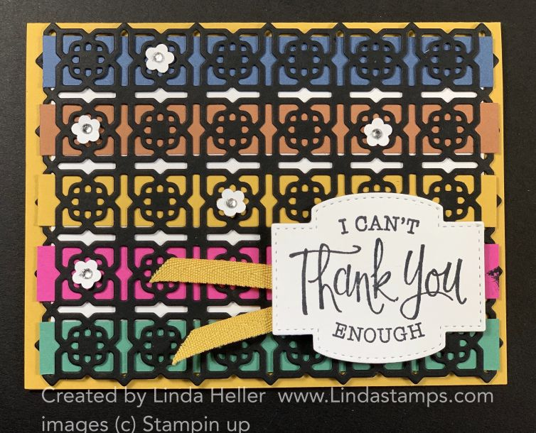 Many Medallions Meets the New In Colors in 2020 Stampin