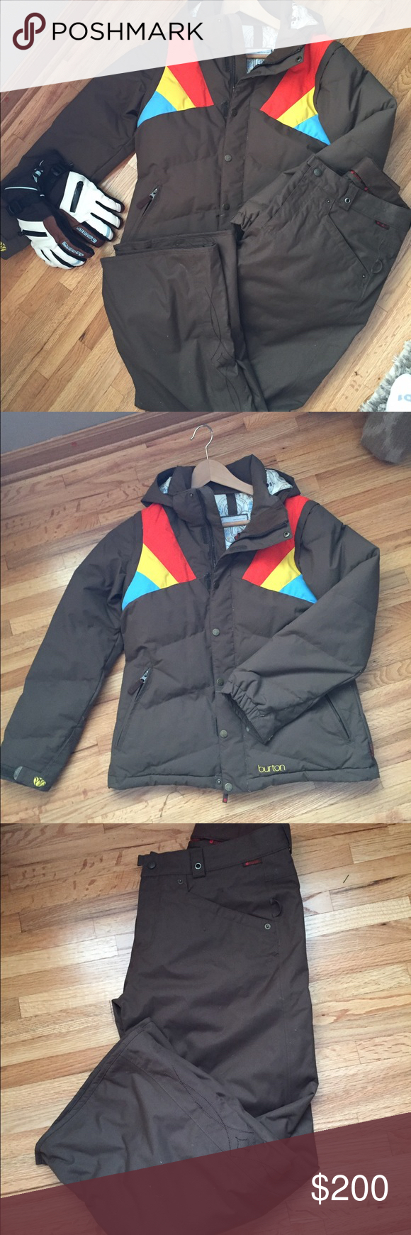 Selling this Burton Snowboarding Outfit on Poshmark! My username is: lmmartin09. #shopmycloset #poshmark #fashion #shopping #style #forsale #Burton #Jackets & Blazers