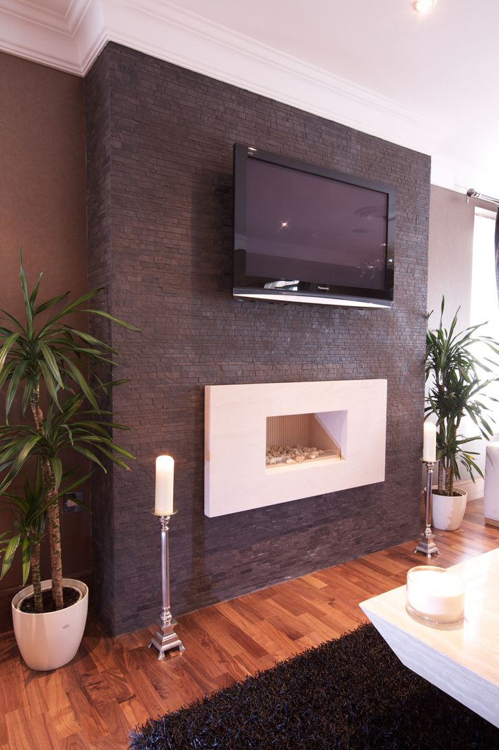 Tile For Fireplace Wall Tiles  Design  The Tile And Stone Blog - Living room wall tiles design