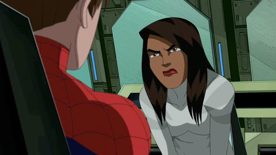 Ava angry at spider man about not telling her and the - Tigre blanc marvel ...