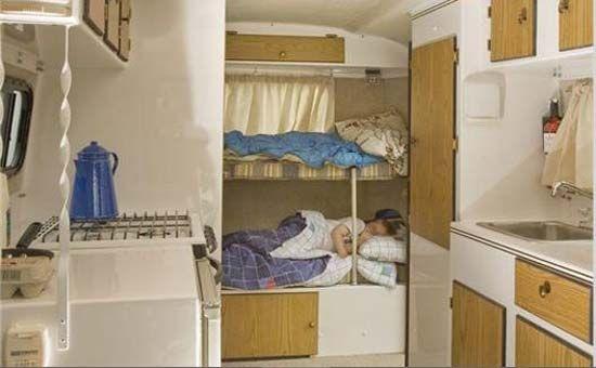 Vintage trailers imagaes scamp 16 39 travel trailer - Interior arrangement and design association ...