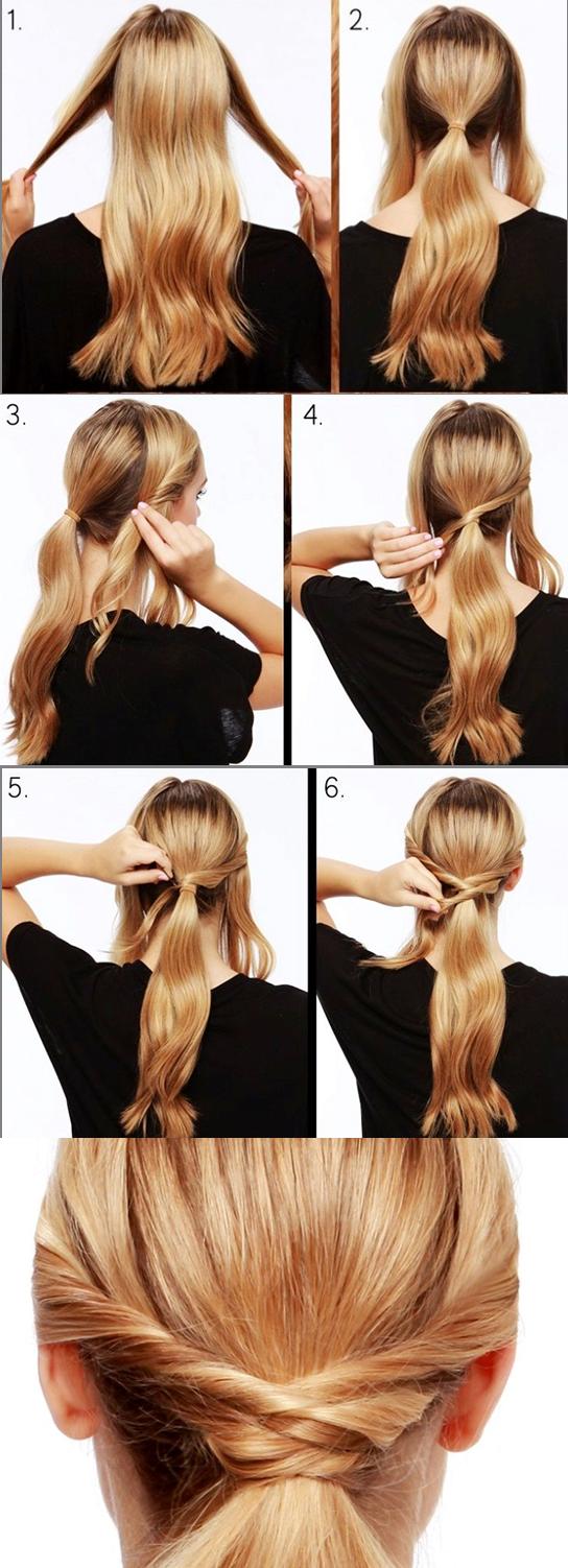 Ponytail torcida loveit hair ideas pinterest ponytail