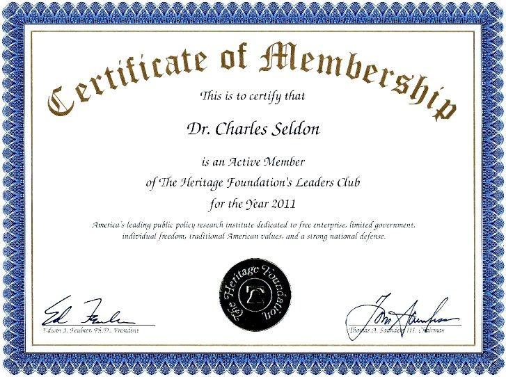 MembershipCertificateTemplateSampleLlcJpg