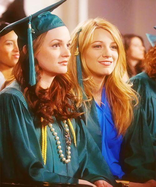 Gossip Girl Season 4 Episode 1 Quotes: Blair Waldorf And Serena Van Der Woodsen Graduating From