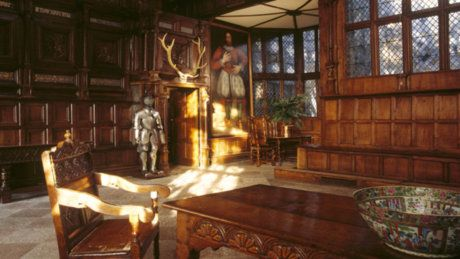 Tudor Great Hall Inside Speke Hall The Old Lodge A Discovery Of Witches Book Of Life Stately Home