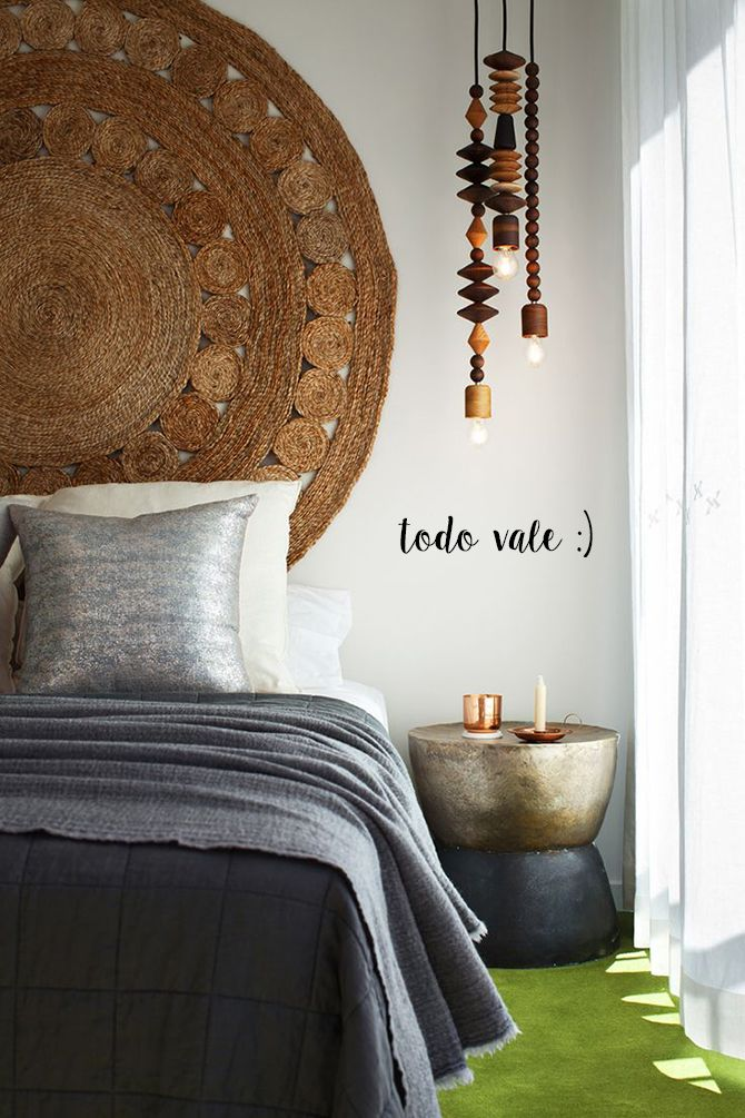 ideas camas sin cabecero bed without headboard