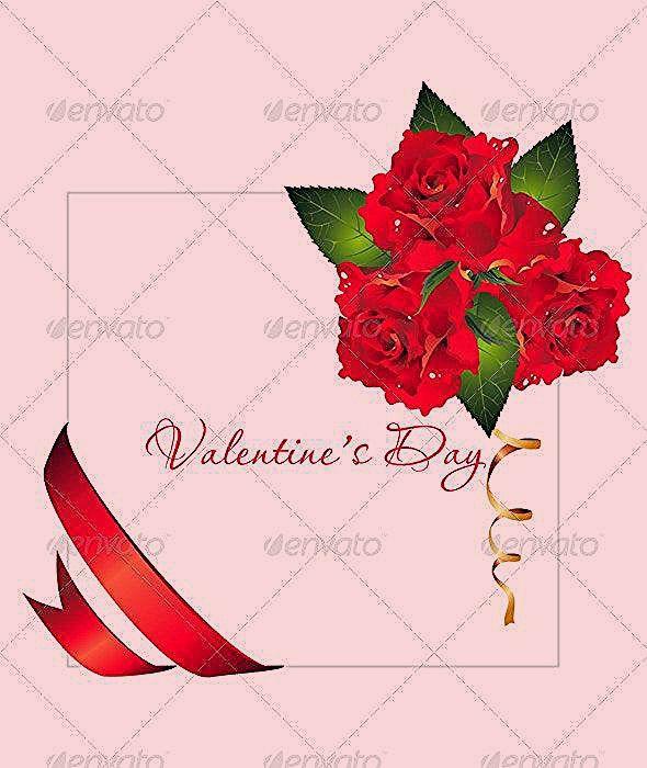Valentines day background Valentines day background