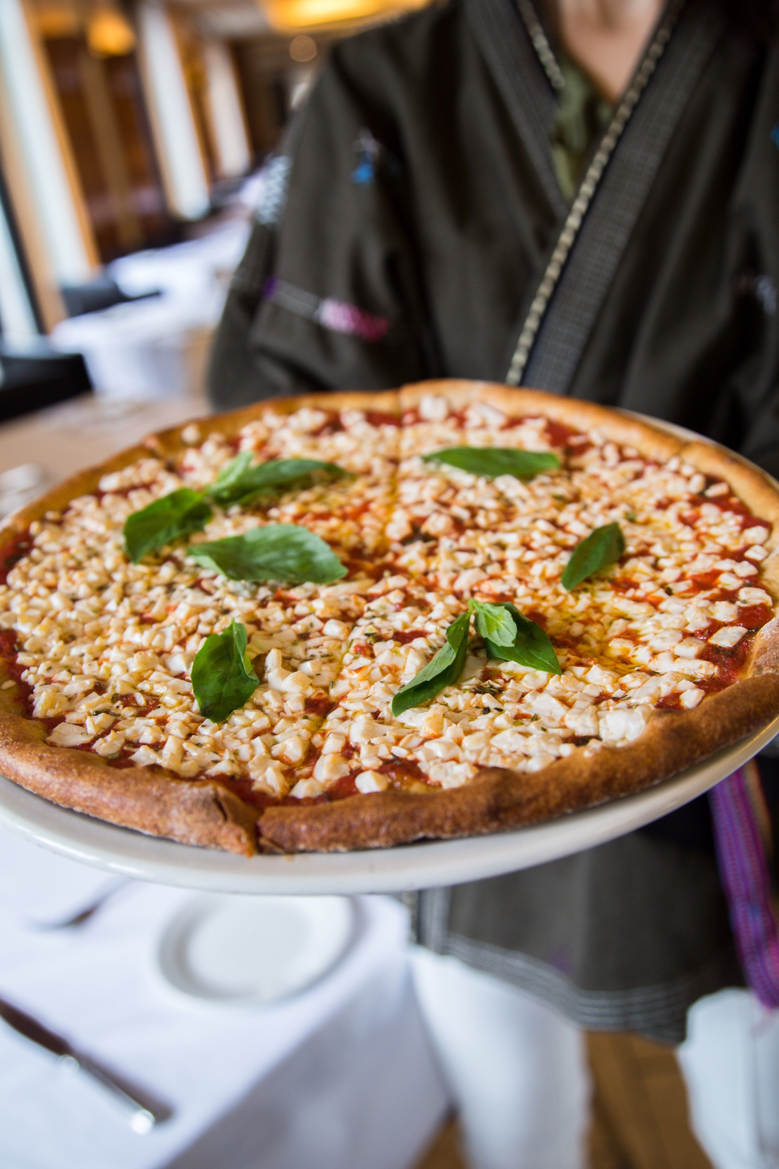 Not Another Cheesy Pizza Post Try The Vegan Margherita At Both Of Our Nyc Locations Food Recipes Vegan Pizza