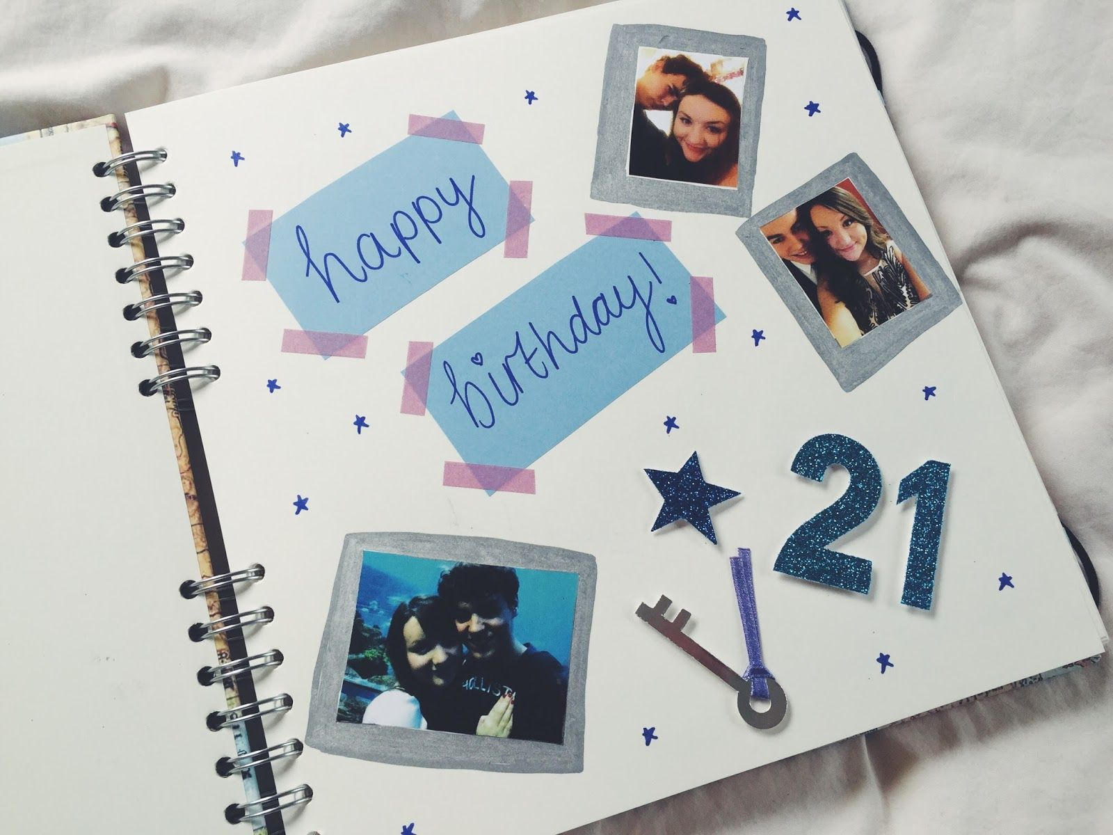 30 Wonderful Photo of Scrapbook Gift For Boyfriend . Scrapbook Gift For  Boyfriend Jessica Bird Lifestyle Best… | Scrapbook gift, Boyfriend gifts,  Bday gifts for him