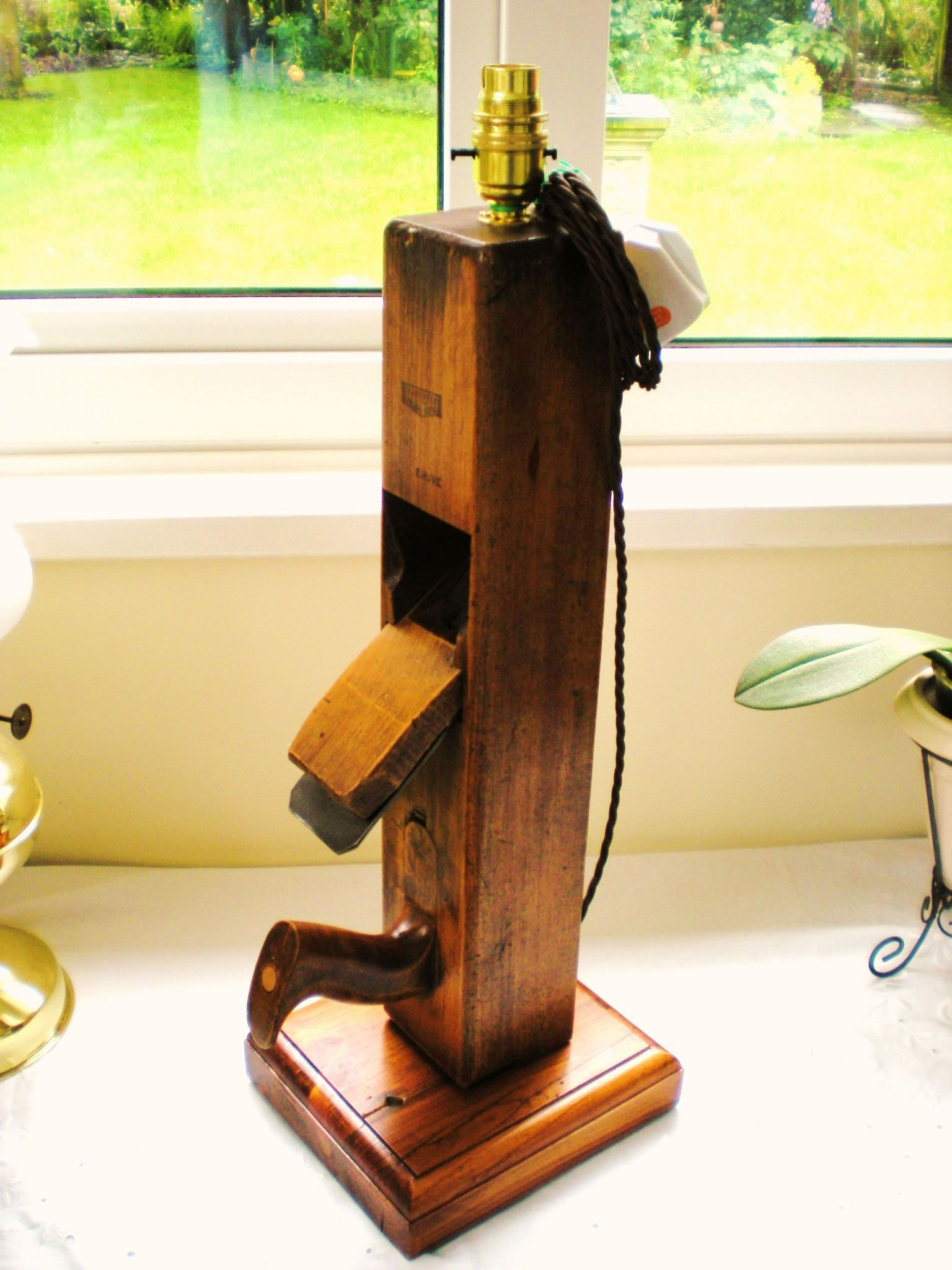 Malcolm Has Used An Old Plane To Make A Lovely Lamp The