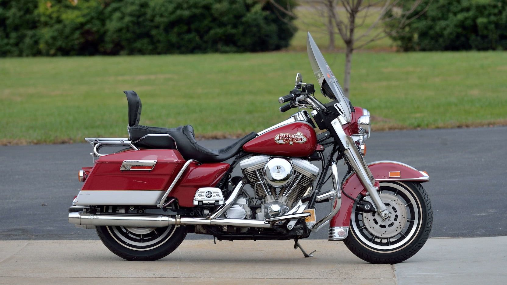 1993 Harley Davidson Electra Glide Sport Presented As Lot S98 At