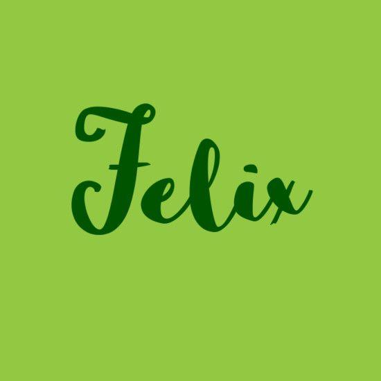 Felix | Boy names, Name inspiration, Baby names
