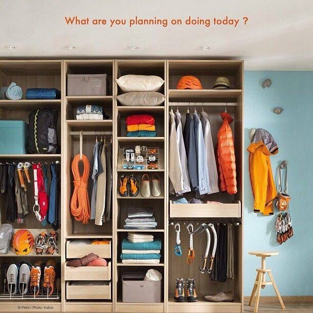 The Perfect Climbing Wardrobe Camping Gear Storage Outdoor