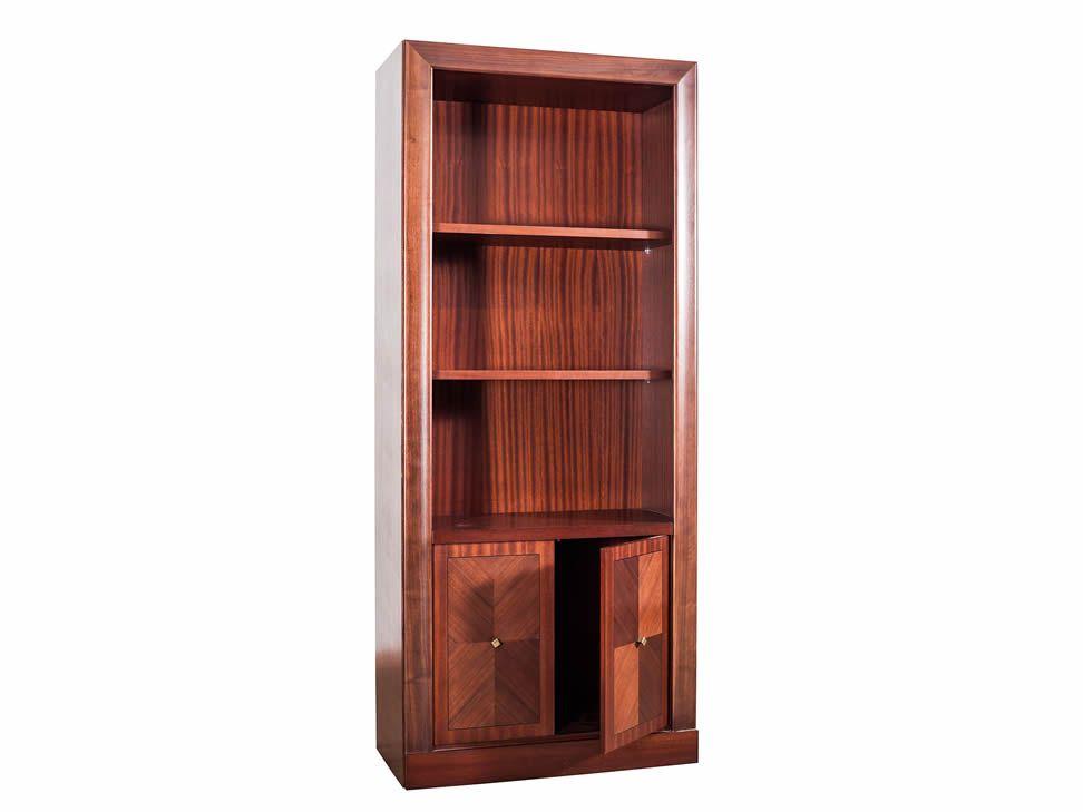 Credenza Con Librero : Librero con puertas clásico cuenca nogal liverpool es parte de