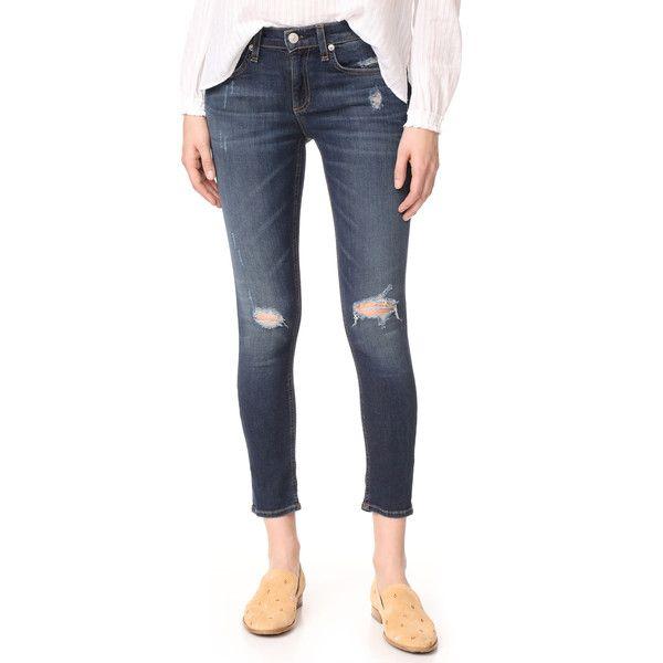 Rag & Bone/JEAN Capri Jeans (337 AUD) ❤ liked on Polyvore featuring - Rag & Bone/JEAN Capri Jeans (337 AUD) ❤ Liked On Polyvore