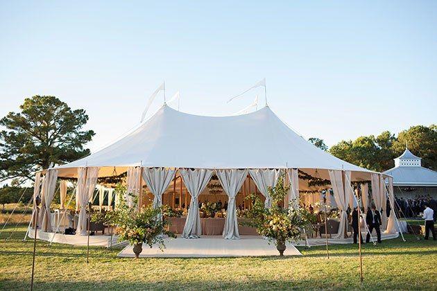 Real Weddings In 2019 Tent Wedding Old World Wedding Tent