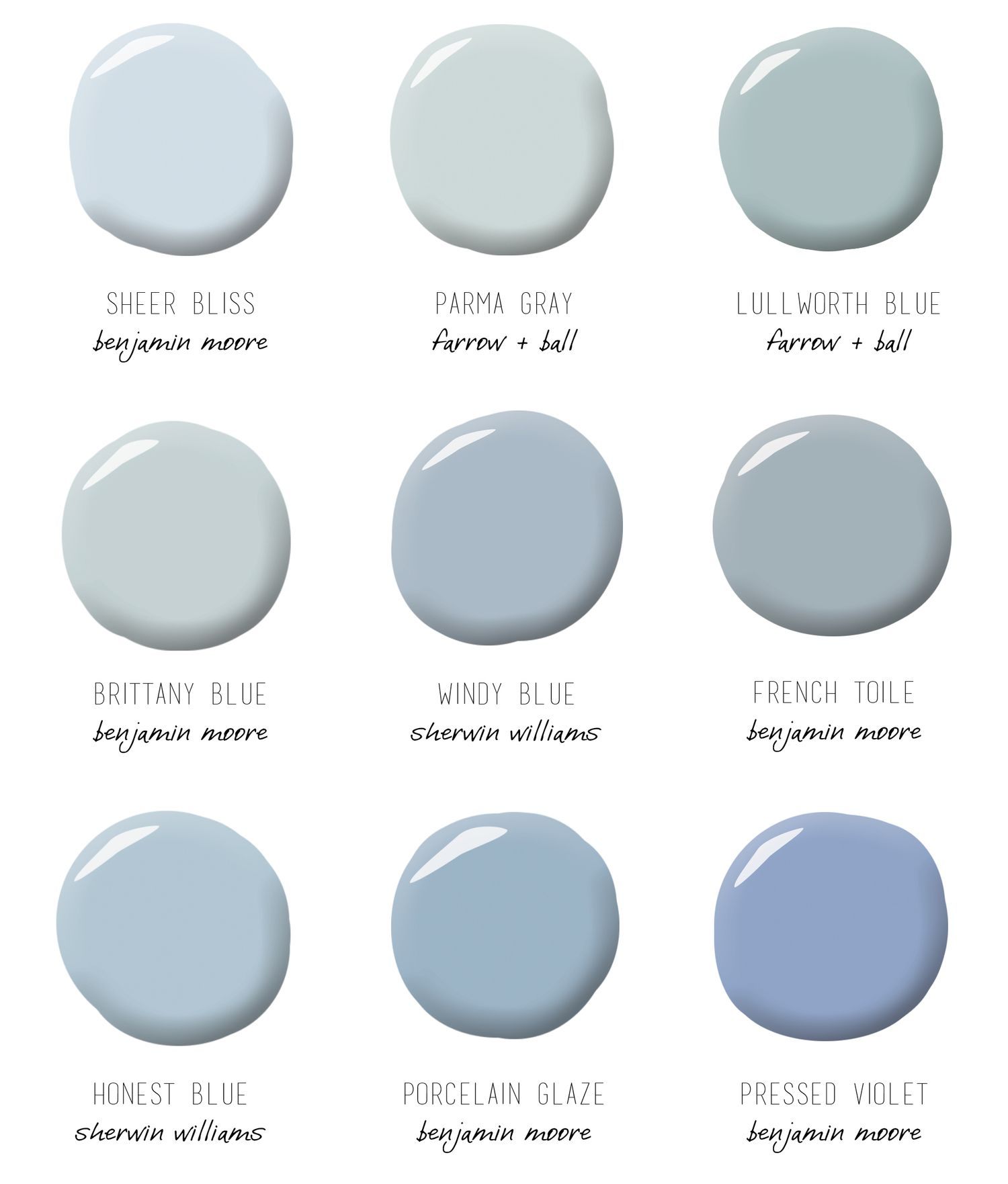 Gray Blue Paint Colors: Blue Gray Paint, Blue