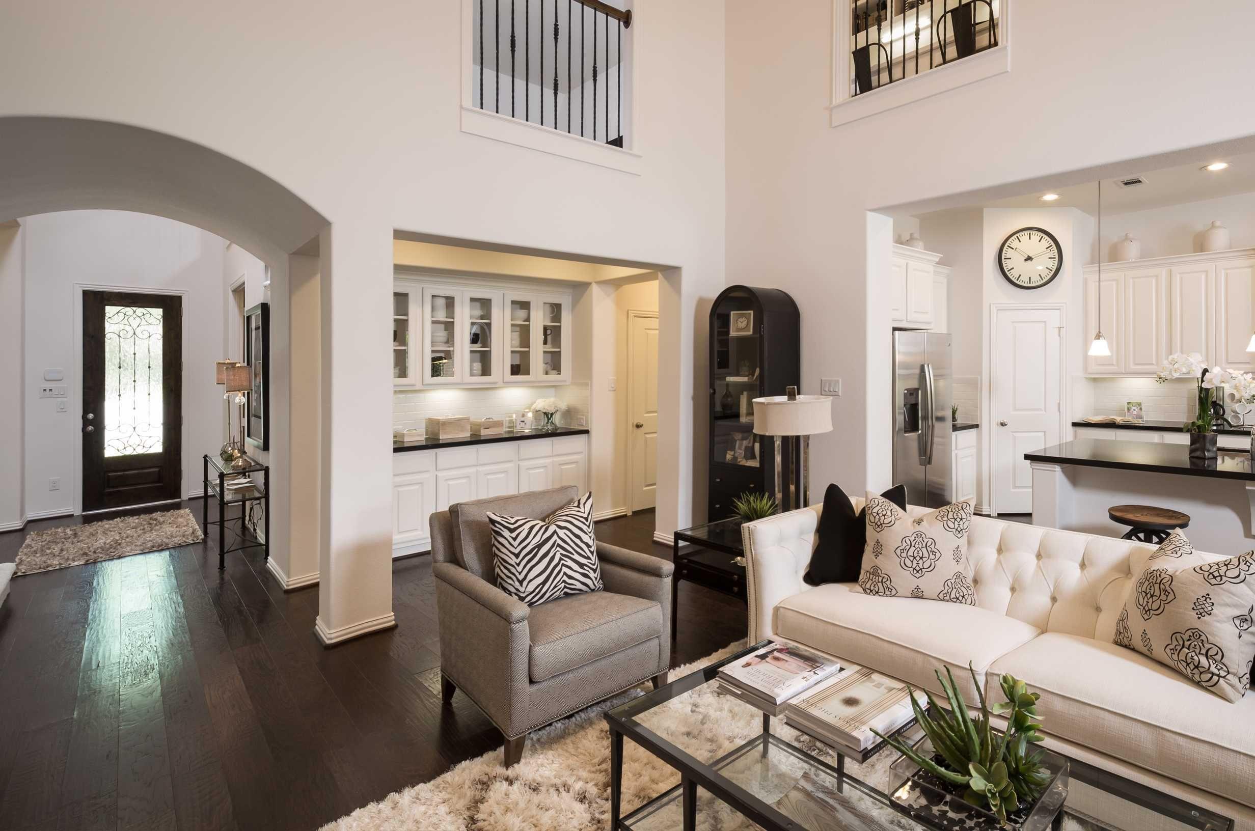 Highland Homes Plan 205 Model Home In Houston Texas The Groves