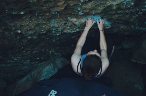 goclimbthemountains: Getting stronger one boulder at a...
