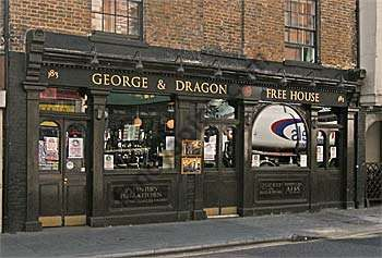 Dragonfly Brewery At The George Dragon In Acton London Pub Review And Details London Pubs British Pub Old Pub