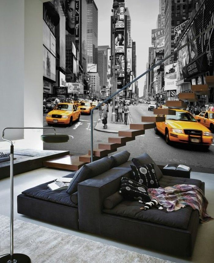 Papier Peint Loft New York